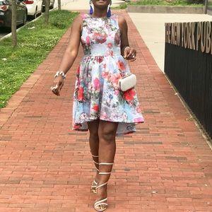Dresses & Skirts - 💕New Arrival💕Floral Print Crinoline Style Dress